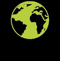 World hands icon