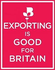 97891 BCC Exporting is Good logo red
