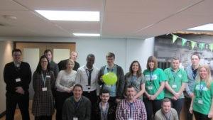 Macmillan staff launch day