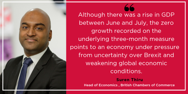 BCC comments on GDP and trade