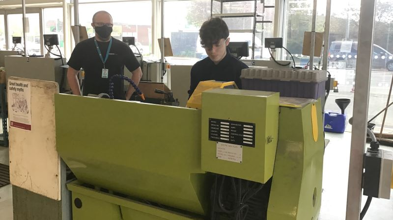 Central Bedfordshire College Engineers the Future with Amazon