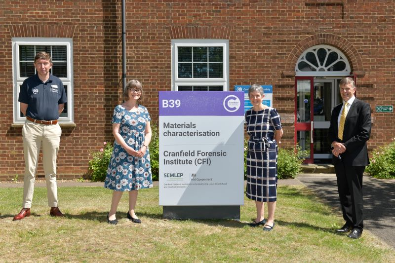Game-changing UK forensic science centre of excellence officially opened