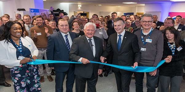 Barclays Chairman opens new aviation technology hub at Cranfield University