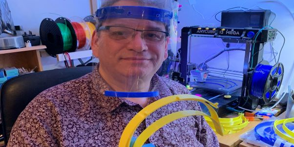 3D printing protective face shields for the NHS