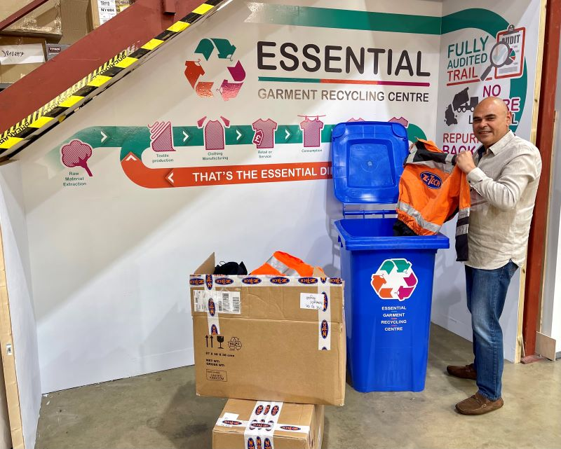 Essential Workwear lead the way with NEW Uniform Recycling Service 'A sustainable solution to textile waste'
