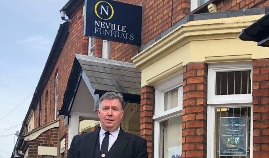 Arnolds Joins New Neville Rebrand