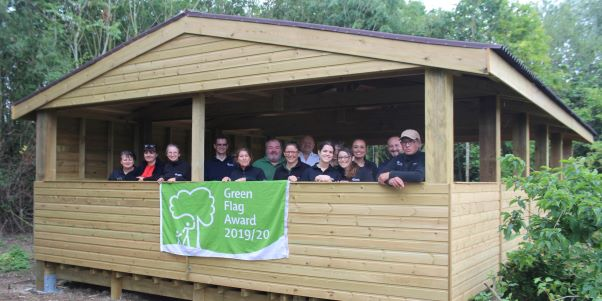 Millennium Country Park wins 13th Consecutive Green Flag Award