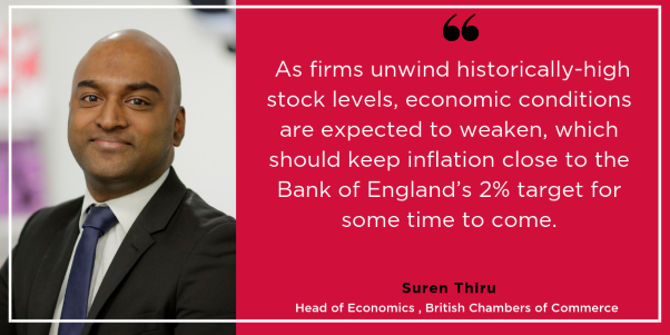 BCC comments on inflation figures