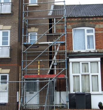 Carrying out building work close to a neighbour's property?
