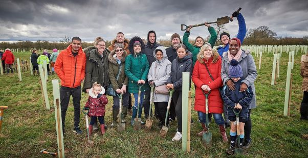 Remembering Loved Ones at CommemorativeTree-Planting Event