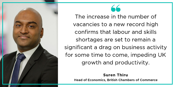 BCC comments on labour and productivity figures