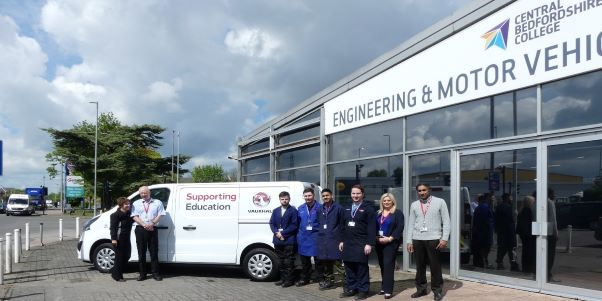 Vauxhall Accelerates Success for Central Bedfordshire College Students