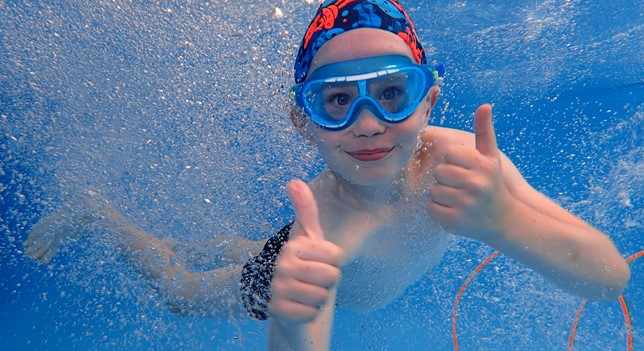 University's business support helps local swim school make a 'splash'!